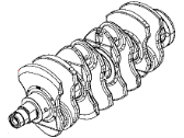 Jeep Renegade Crankshaft - 68212067AA
