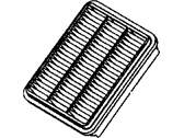 Dodge Avenger Air Filter - MB906051