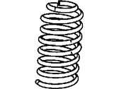 Jeep Wrangler Coil Springs - 52126316AB