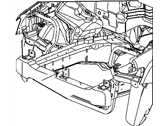 Mopar 5166082AA CROSSMEMBER-UNDERBODY