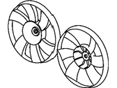 Dodge Fan Blade - 5066161AA