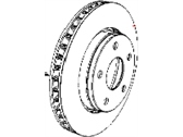 Jeep Brake Disc - 4779599AA