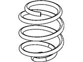 Jeep Wrangler Coil Springs - 68004459AA