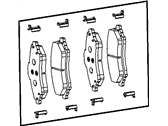 Chrysler Town & Country Brake Pad - V1013152AA