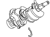 Jeep Crankshaft - 53020959