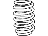 Chrysler 300 Coil Springs - 5168881AB