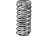 Dodge Stratus Coil Springs - 4879182AA