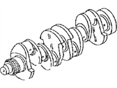 Jeep Patriot Crankshaft - 68034265AB