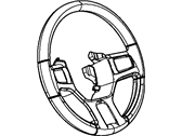 Mopar Steering Wheel - 1YH41XDVAB