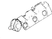Chrysler Grand Voyager Exhaust Manifold - MD307345