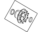 Ram Wheel Bearing - 5154282AA