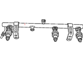 Chrysler Voyager Fuel Rail - 4612213