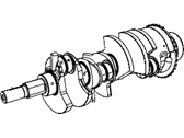 Jeep Crankshaft - 53021302BB