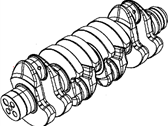 Jeep Patriot Crankshaft - 68089223AA