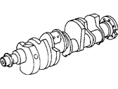 Jeep Crankshaft - 53021302AD