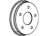 Mopar Brake Disc - 52010080AE