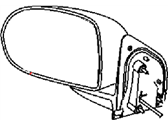 Mopar 5LV64JBAAC MIRROR-OUTSIDE REARVIEW