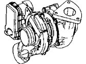 Jeep Patriot Turbocharger - 68150052AA