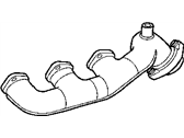 Chrysler Crossfire Exhaust Manifold - 5101529AA