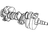 Jeep Crankshaft - 4781507AC