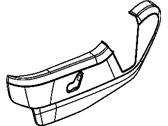 Genuine Mopar Driver Outboard Shield 1JB13DX9AB