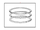Ram Piston Ring Set - 68098943AA