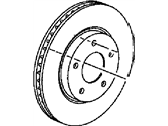 Jeep Brake Disc - 5105514AA
