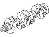 Jeep Patriot Crankshaft - 68000671AA