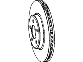 Mopar Brake Disc - 5290537AB