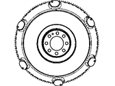 Dodge Challenger Flywheel - 5038113AB