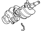 Jeep Crankshaft - 53020959AB