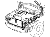 Mopar 56055292AF WIRING-HEADLAMP TO DASH