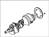 Jeep Crankshaft - 5038339AD