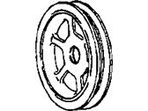 Chrysler 300 Crankshaft Pulley - 4792814AB