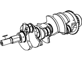 Jeep Crankshaft - 5037458AB
