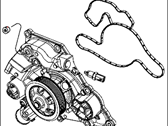 Mopar Water Pump - 5038677AA