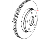 Jeep Brake Disc - 68040177AA
