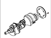Jeep Crankshaft - 5038339AE
