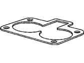 Dodge Viper Throttle Body Gasket - 5037191AC
