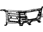 Mopar Performance 68056631AA MOPAR Bracket