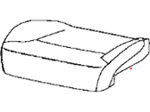 Mopar Genuine 68140105AB Front Seat Heater Pad for 2013 2014 2015 Dodge Journey