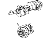 Jeep Patriot Crankshaft - 68001694AC