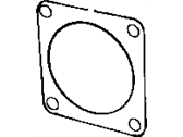 Dodge Viper Throttle Body Gasket - 4848126