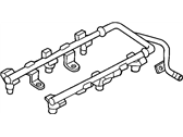 Chrysler Voyager Fuel Rail - 4861498AD
