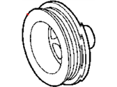 Chrysler Crossfire Crankshaft Pulley - 5127600AB