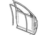 A Pillar Seal Right Mopar 55276957AB