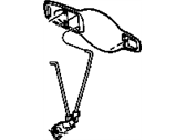 Mopar 5160082AB LINK-OUTSIDE DOOR HANDLE