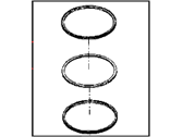 Dodge Ram 1500 Piston Ring Set - 5086885AB