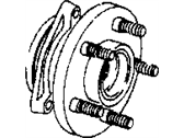 Jeep Wheel Stud - 6036482AA