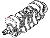 Dodge Dart Crankshaft - 4892921AB